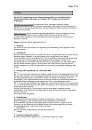 Bijlage 135-03 Verslag openb verg 136e UC vergadering 12 jan 2011