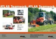der AGT • Radlader und Geräteträger als ... - ATLAS MECKLENBURG