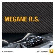 Brochure Mégane Renault Sport - Autobedrijf Kerres