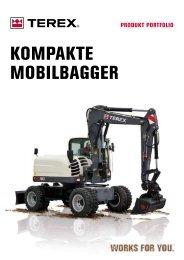 KOMPAKTE MOBILBAGGER - ATLAS MECKLENBURG