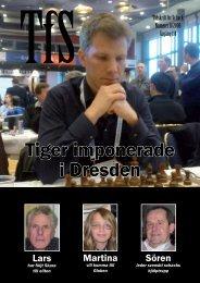 Tiger imponerade i Dresden - Sveriges Schackförbund