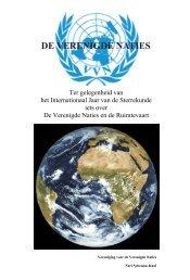 Pedagogisch dossier - Vereniging voor Verenigde Naties