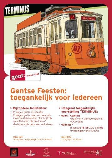 Gentse Feesten: toegankelijk voor iedereen - Fevlado