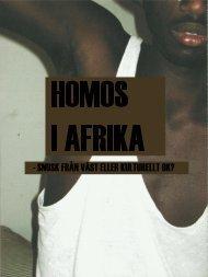 homosexualitet i Afrika, här