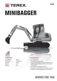 MINIBAGGER - ATLAS MECKLENBURG