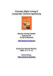 Schloss Ippenburg - Living Fine
