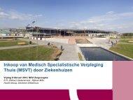 Inkoop van Medisch Specialistische Verpleging Thuis (MSVT) - Nevi