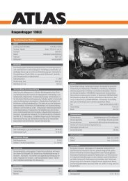 Raupenbagger 190LC - ATLAS Maschinen Gmbh