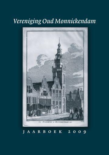 Jaarboek 2009 - Vereniging Oud Monnickendam