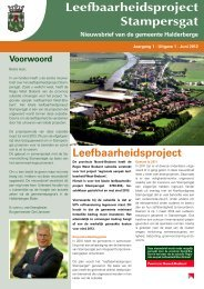 Nieuwsbrief Stampersgat juni 2012 - Gemeente Halderberge