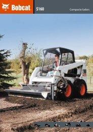 Bobcat S160 - 123 Machineverhuur