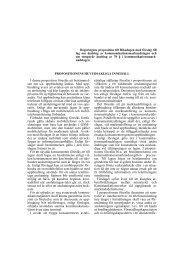 Regeringens proposition till Riksdagen med förslag till lag om ...