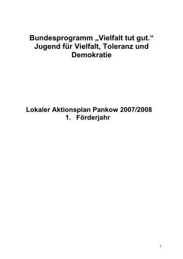 LAP Pankow_Vollversion (Pdf | 100KB) - Lokaler Aktionsplan Pankow