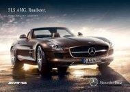 Download prijslijst SLS AMG Roadster - Mercedes-Benz