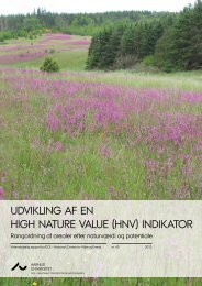 (hnv) indikator - Naturbeskyttelse.dk
