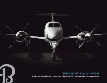 BEECHCRAFT® King Air B200GT - Black Rock Global Services