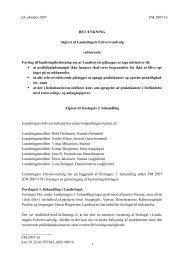 BETÆNKNING til punkt 9 - Inatsisartut