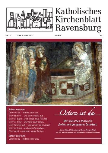 Kirchenblatt 15/2012 - Katholische Gesamtkirchengemeinde ...
