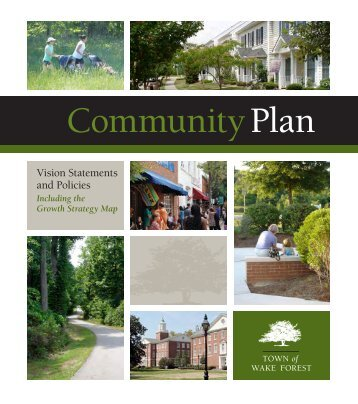 Vision statements and Policies - Town of Wake Forest, NC