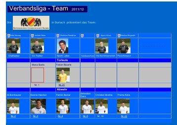 Verbandsliga - Team 2011/12 - ASV Durlach