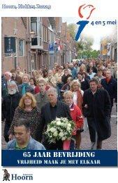 65 jaar bevrijding - Gemeente Hoorn
