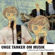 UNGE TANKER OM MUSIK - Berit Nørgaard