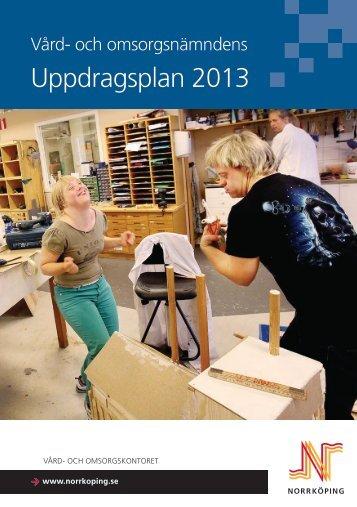 vård- och omsorgsnämndens uppdragsplan - Norrköpings kommun