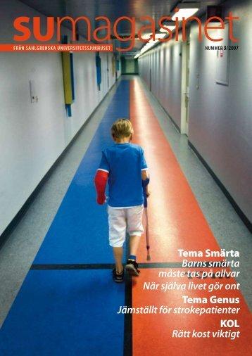Tema Smärta Barns smärta måste tas på allvar När själva livet gör ...