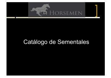 Pedigree - horsemen