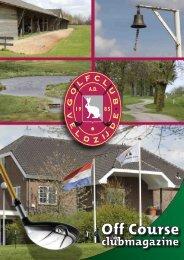 Jaargang 26 nummer 2 - mei 2012 - Golfclub Veldzijde