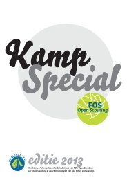 Kampspecial 2013 - FOS Open Scouting
