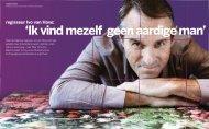 Interview Ivo van Hove - Hilde Postma is journalist, eindredacteur en ...