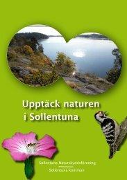 Upptäck naturen i Sollentuna - Sollentuna kommun