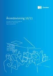Årsredovisning 10/11 - Cinnober