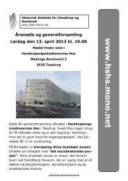 Nyhedsbrev 1. 2013 - Historisk Selskab for Handicap og Samfund ...