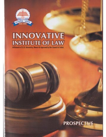 download brochure - Innovative Institute of Law