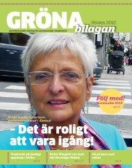 Gröna bilagan hösten 2012 - Lärarförbundet