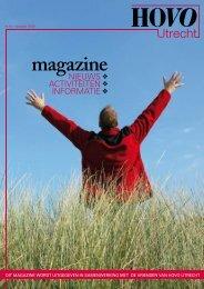 HOVO Utrecht Magazine nr. 10 Voorjaar 2009