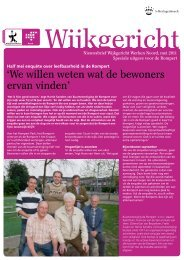 'We willen weten wat de bewoners ervan vinden' - s-Hertogenbosch