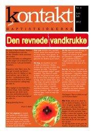 Nr. 4/2012 - Baptistkirken i Danmark