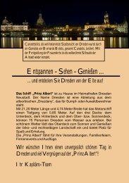 Getränke - Elbecharterschiff