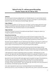 Referat fra den 31 - Danske Torpare