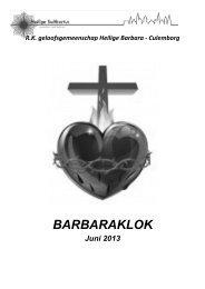 De barbaraklok juni 2013 - Heilige Suitbertus