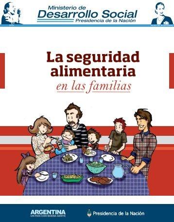 La seguridad alimentaria en las familias - Ministerio de Desarrollo ...