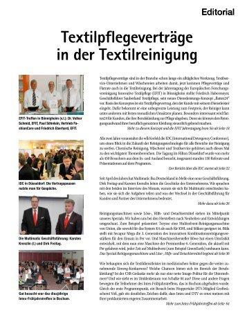 Textilpflegeverträge in der Textilreinigung - beim SN-Fachpresse ...