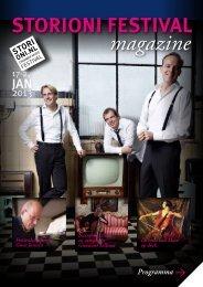 Programma Magazine - Storioni Festival