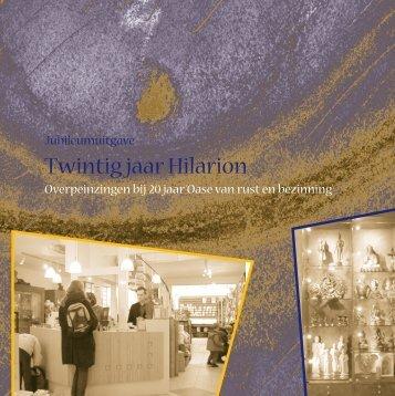 Jubileum boekje 2000 - Hilarion
