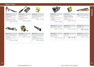 Joinery accessories and essentials - Magnet Trade