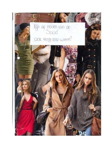 mode op De Saad van Jeltsje Veenstra en Elisabeth Terpstra
