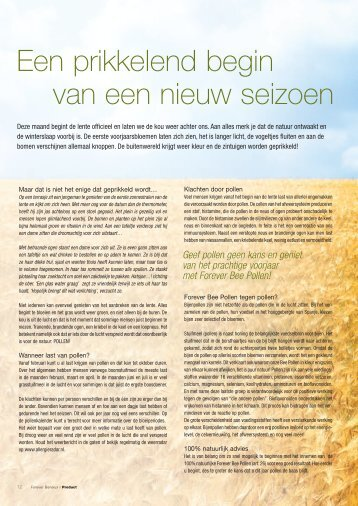 FOB MAART nederlands.indd - Forever Living Products